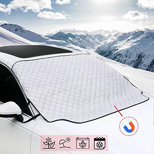 Eis Frost Auto-Windschutzscheiben-Schutz sch/ützt vor Schnee Sonnenschutz Staub