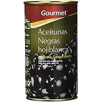 Gourmet - Aceitunas negras con Hueso categoria selecta, 185 gr.