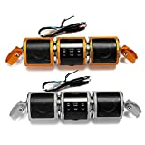 Waterproof Motorcycle Handlebar Stereo Speakers MP3 USB FM with Bluetooth Function