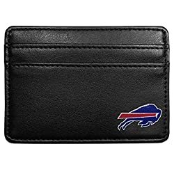 NFL Buffalo Bills Leather Weekend Wallet, Black