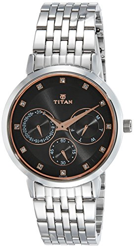 Titan Neo Analog Grey Dial Women's Watch-2569SM04