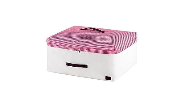 Gespout Quilts Aufbewahrungstasche Kleidung Finishing Aufbewahrungsbox Faltbare mit Rei/ßverschluss Jumbo Bag Lagerung Quilt Taschen Space Saver Taschen Bekleidung Aufbewahrungsboxen