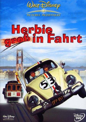 Bild von Herbie groß in Fahrt