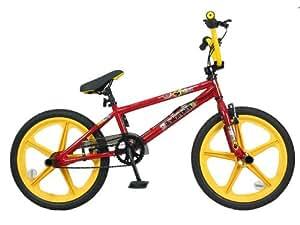 Redemption Mag Wheel Boys BMX Bike - Red/Yellow, 20 inch