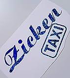 Schönheits Shop Zicken Taxi Blau Farbwechsel Hologramm Effekt Fun Girl Frauenauto Aufkleber Tuning School Roller Motorrad Turbo