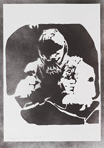 Bane Batman Rises Hecho A Mano - Handmade Street Art Poster