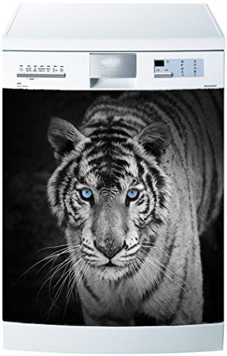 Preisvergleich Produktbild stickersnews–Magnet Spülmaschine Tiger 60x 60cm OEM 607