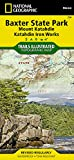Baxter State Park/Mount Katahdin : Trails Illustrated Other Rec. Areas (Ti - Other Rec. Areas)