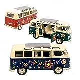 VW T1 Bulli Flower Power Modellauto - VW Hippie Bus Volkswagen T1 Bus Liebe