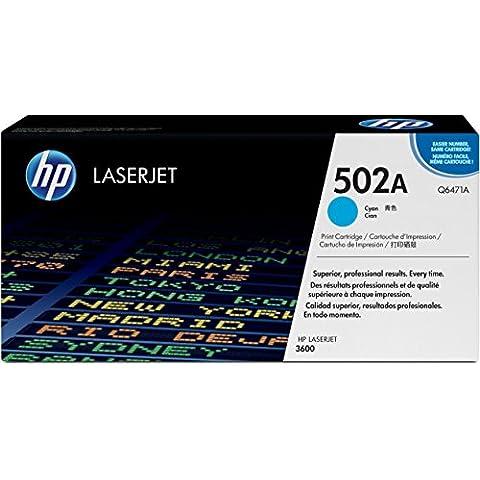 HP Q6471A - Tóner HP 502A LaserJet, cian