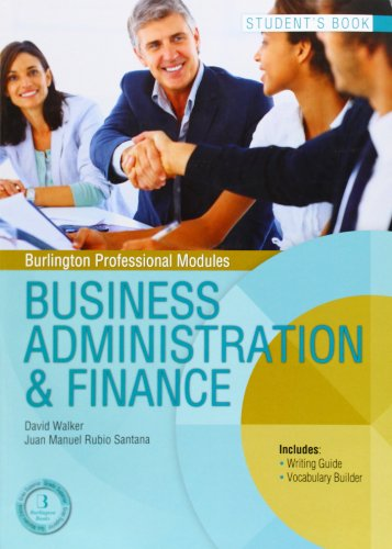 BUSINESS ADMINISTRATION FINANCE SB GS Burlington Books por UNKNOWN
