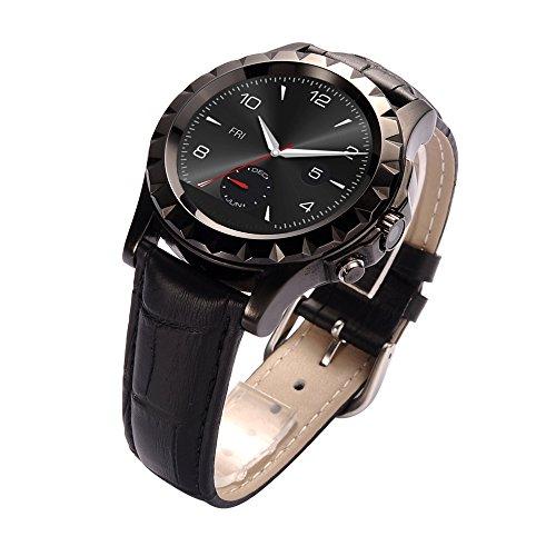 EgreenTech Stylish Round Dial Bluetooth Smart Watch Waterpfoof Pedometer Heart Rate Monitor Camera HIGH QUALITY