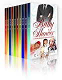 The Baby Shower  - A 10 Book Pregnancy Romance Bundle: BWWM Pregnancy Romances Including Billionaires, Alpha Males, Firemen, Movie Stars, Cowboys & More! (English Edition)