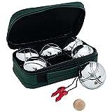 Gioco bocce in metallo pesante con boccino in borsa custodia