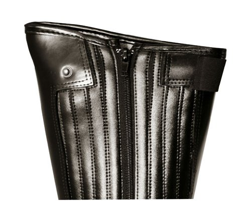 Kerbl Reitstiefel flexo, Chaussures d'Equitation Adulte Mixte Noir - Noir (noir ; 19-0303)