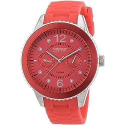Esprit Women's Quartz Watch Analogue Display and Silicone Strap