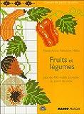 carnet de point de croix - Fruits et legumes