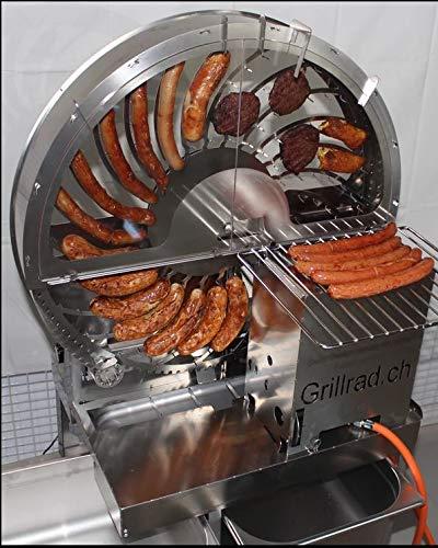 Grillrad Wurstrad Wurstgriller Steakgrill Beefgrill Gasgriller