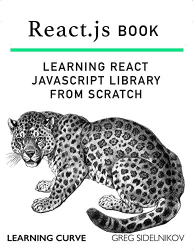 React.js Book: Learning React JavaScript Library From Scratch