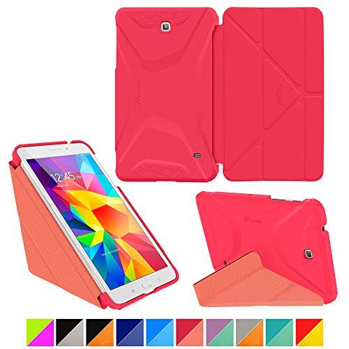 roocase-samsung-galaxy-tab-4-80-case-origami-3d-persian-rose-ruddy-pink-slim-shell-20cm-20cm-smart-c