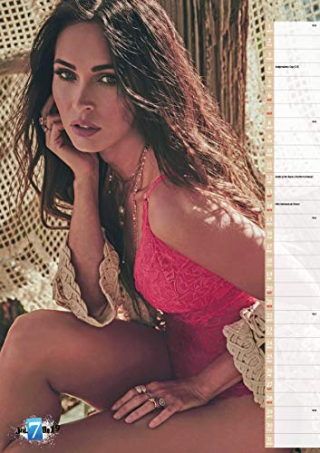 Megan Fox 2019 Calendar