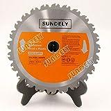 "SUNDELY® TCT Circular Saw Blade 210 mm X 25.4 mm X 24T (8 1/4"" X 1"") for Evolution RAGE Circular Saw"