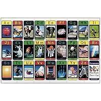24-piece Deluxe Alphabet Cardboard Floor Puzzle by Lights Camera Interaction - Peluches y Puzzles precios baratos