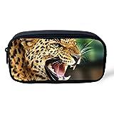 orrinsport Cute Animal Astuccio Per La Scuola Studenti ufficio prodotto Cosmetic Bag per ragazza Leopard