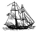 Tenuta dell'otturatore Artemio G tipo barca di legno