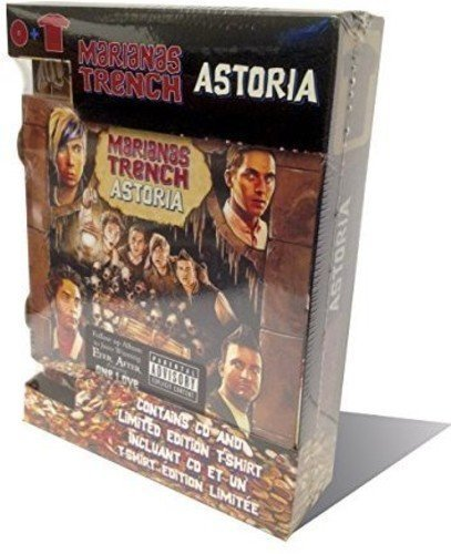 Astoria (Fan?Pack?Album?+?T-shirt) by Marianas Trench