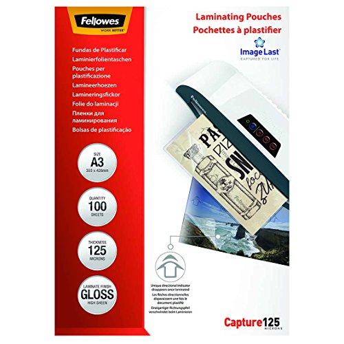 Preisvergleich Produktbild Fellowes ImageLast Laminierfolien 125 Mikron, DIN A3 (100er Pack)