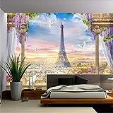 Fushoulu 3D-Tapete, dreidimensional, europäisches Para-Sala, Wandbild