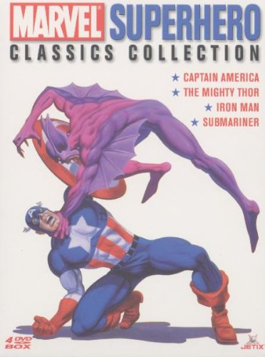 The Marvel Superhero Classics Collection (4 DVDs)