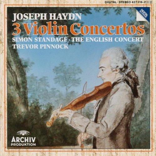 Haydn: Violin Concertos In C Major Hob.VIIa: 1, In G Major Hob. VIIa: 4, In A Major Hob. VIIa: 3/ Salomon: Romance in D Major