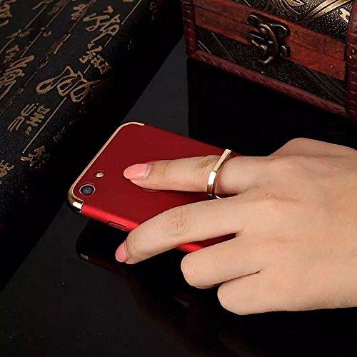 Coque iPhone 7,Coque iPhone 7 Plus,Coque iPhone 6/6S,Coque iPhone 6 Plus, Coque iPhone 6S Plus,Manyip 3 in 1Trois segments de type combiné Coque ,électrodéposition de couleur,Mince case cover(ZG-18) B