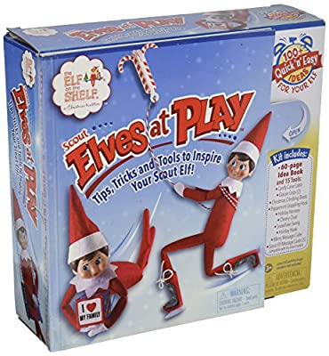 "Elf on The Shelf ""Scout Elves At Play"" - inexpensive UK light shop."