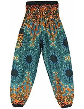 Nuevo!! Mujeres HaréN Pantalones Arabes De Cintura De CordóN Boho Yoga
