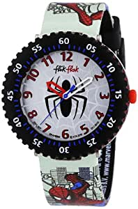 Flik Flak - FFL007 - Montre Garçon - Quartz - Analogique - Bracelet plastique multicolore