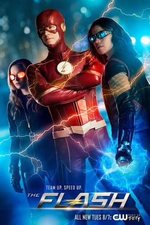 The Flash - U.S TV Series Wall Poster Print - 43cm x 61cm / 17 Inches x 24 Inches A2 - Flash Wall