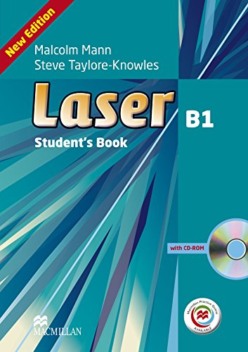 Laser 3rd Edition B1 Student's Book & CD-ROM with MPO