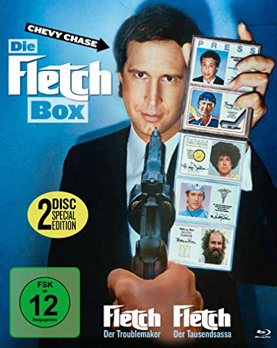 Die Fletch Box - Fletch 1+2 [Blu-ray] [Collector's Edition]