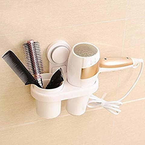 Powerful suction cups Hair dryer Storage racks Toilet shelves Multifunctional plastic kitchen shelves