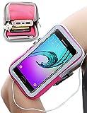 Galaxy A5 Armband, iMangoo Sport Armband mit Schlüsselhalter Extension Strap Protection Handgelenk Tasche Wallet für Samsung Galaxy A5 J5 rosa