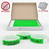 19mm Neon Green GrandstandStore.com Tyvek Event Wristbands for easy vip identification - 500CT BOX