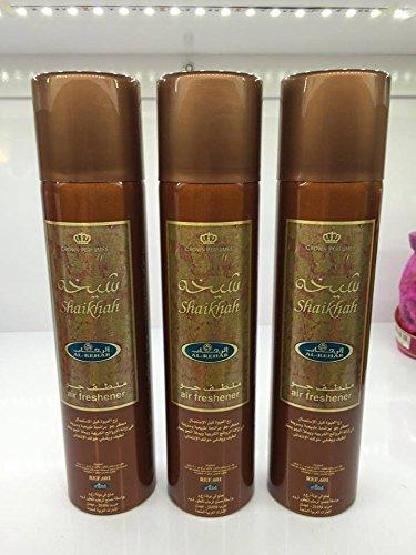 Lot de 3 Air fresher 300ml Al Rehab Shaikhah + 1 OFFERT