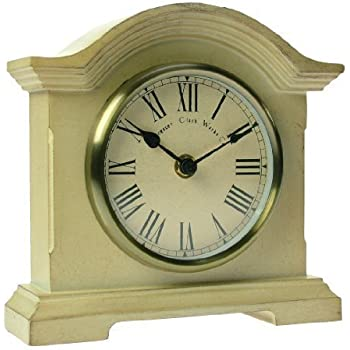 Acctim 33282 Falkenburg Mantel Clock, Cream