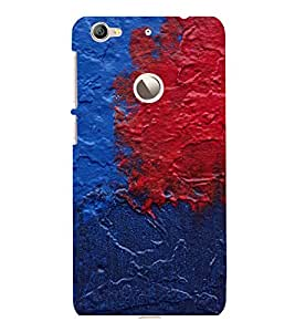 printtech Color Spill Pattern Back Case Cover for LeEco Le 1s Eco