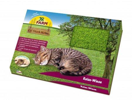 JR-Farm Ein Stück Natur Relax-Wiese für Katzen