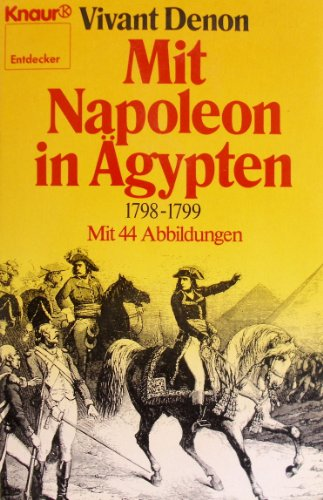 Preisvergleich Produktbild Mit Napoleon in Ägypten 1789 - 1799
