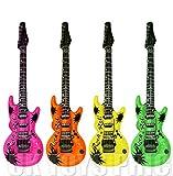 Romote 106 Centimeter aufblasbare Gitarre - Farbe Variiert
